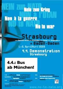 Auf nach Strasbourg - NATO abschaffen