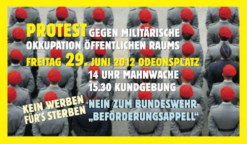 Protest-Odeonsplatz 29.6.2012