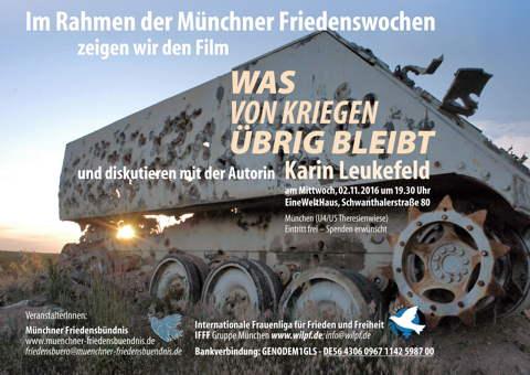 2.11.2016 Karin Leukefeld Film in München