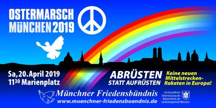 #Ostermarsch #Muenchen