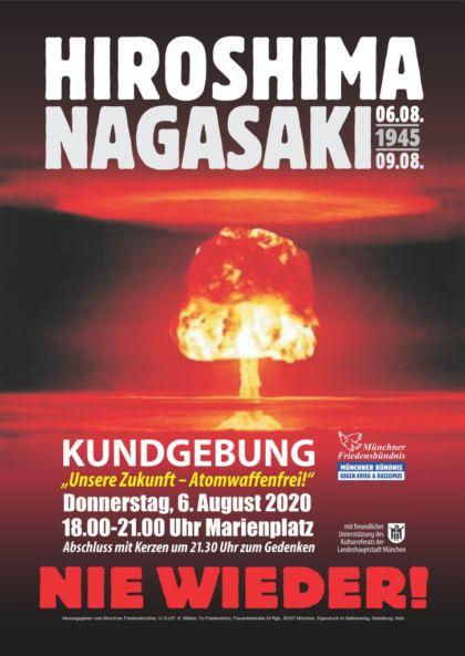 Hiroshimatag München 2020